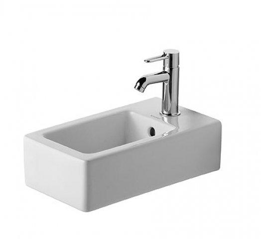 duravit handwaschbecken vero 25cm mit berlauf 1 hahnloch weiss. Black Bedroom Furniture Sets. Home Design Ideas