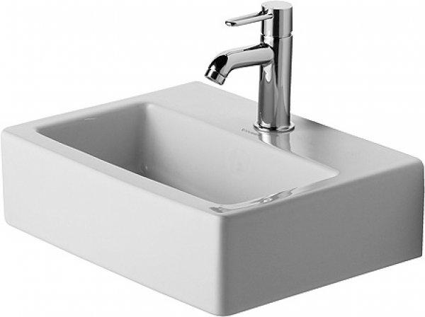 duravit handwaschbecken med vero 45cm 1 hahnloch weiss. Black Bedroom Furniture Sets. Home Design Ideas