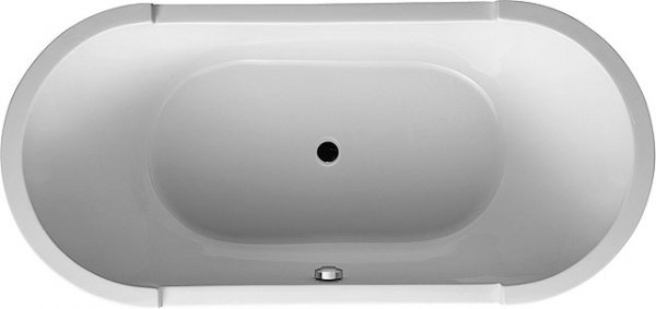 Duravit Whirlpool Oval Starck 1900x900mm free standing jet system