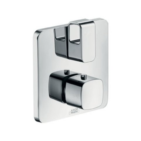 Hansgrohe Axor Urquiola flush-mounted thermostat with stop/changeover valve
