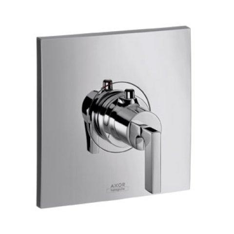 hansgrohe axor citterio thermostat unterputz mit hebelgriff. Black Bedroom Furniture Sets. Home Design Ideas