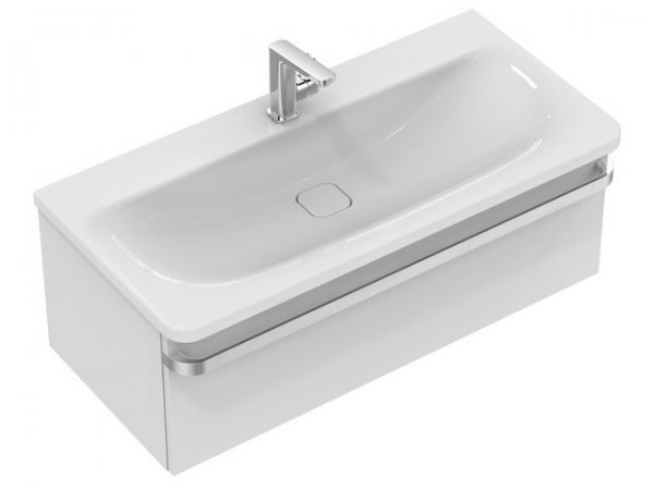 Ideal Standard TONIC II Vanity unit, 1000mm, 1 pull-out R4304
