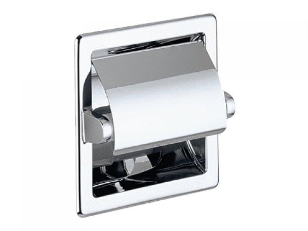 keuco wc papierrollenhalter universalartikel 04960 f r wandeinbau verchromt. Black Bedroom Furniture Sets. Home Design Ideas