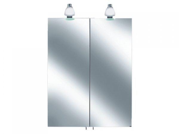 keuco royal 30 spiegelschrank 05601 2 dreht ren mit beleuchtung 600mm. Black Bedroom Furniture Sets. Home Design Ideas