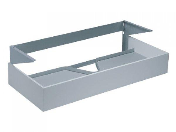 Keuco Edition 300 Waschtischunterschrank 30382, 950 x 155 x 525mm, Korpus/Front: Weiß / Weiß