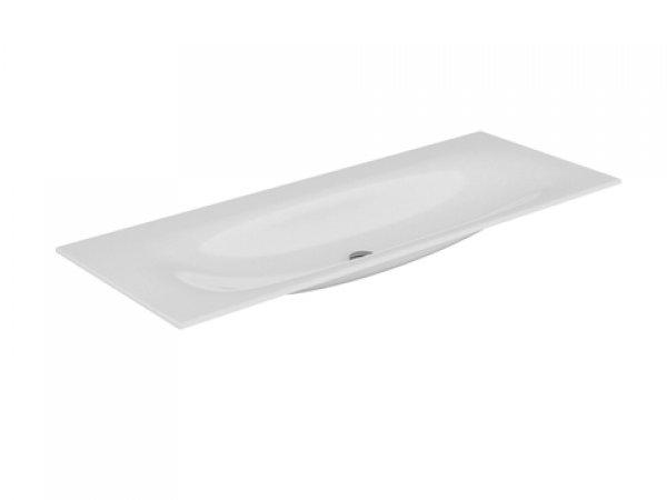 Keuco Edition 11 Keramik Waschtisch 31160, 1405x17x538mm, ohne Hahnlochbohrung, weiß