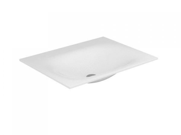 Keuco Edition 11 Varicor Waschtisch 31240, 700x535mm, ohne Hahnlochbohrung, weiß