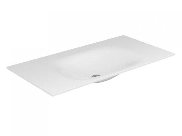 Keuco Edition 11 Varicor Waschtisch 31270, 2800x535mm, ohne Hahnlochbohrung, weiß,