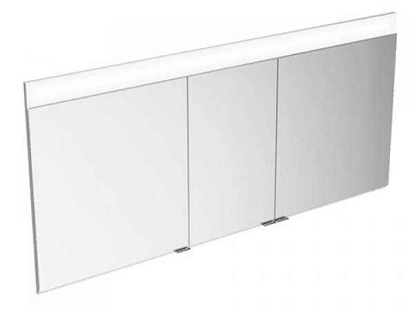 Keuco Edition 400 mirror cabinet 21513, wall mounted, 1 light colour, 1410x650x154mm