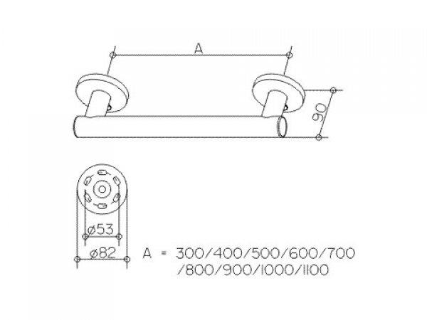 keuco haltegriff plan care 34901 782mm. Black Bedroom Furniture Sets. Home Design Ideas