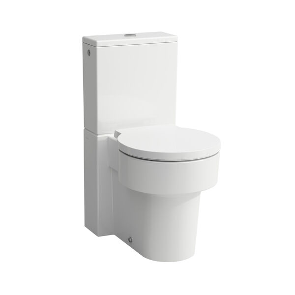 Laufen VAL free-standing WC for cistern, dishwasher, rimless, 390x660, white