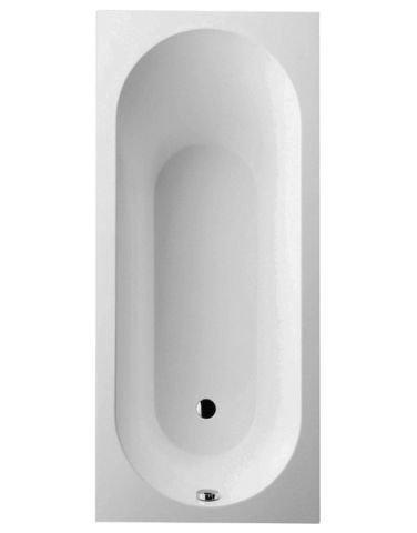 Villeroy und boch badewanne quaryl rechteck oberon solo for Villeroy und boch badewanne