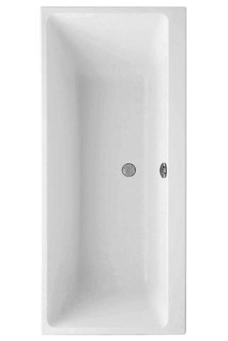 Bad & Küche Badewanne Rechteck Wanne Acryl 1700x750mm Weiß