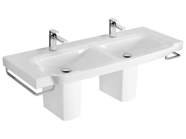 villeroy und boch schrank doppelwaschtisch sentique 5126d0 1300x520mm. Black Bedroom Furniture Sets. Home Design Ideas