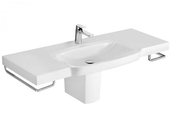 villeroy und boch schrankwaschtisch sentique 514280 800x520mm weiss. Black Bedroom Furniture Sets. Home Design Ideas