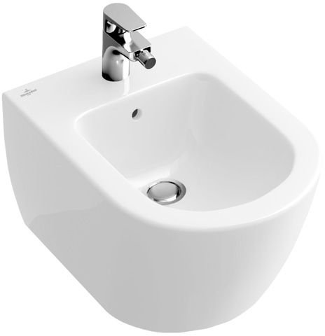 villeroy und boch bidet compact subway 540600 355x480mm weiss. Black Bedroom Furniture Sets. Home Design Ideas