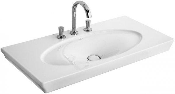 villeroy und boch waschtisch la belle 6124a1 1000x490mm. Black Bedroom Furniture Sets. Home Design Ideas