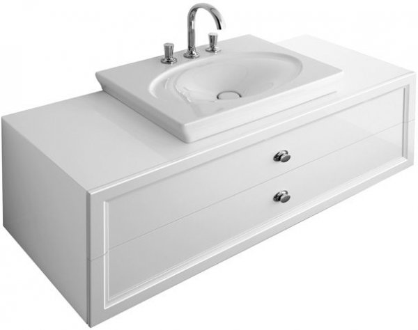 villeroy und boch waschtisch la belle 6126g1 700x490mm. Black Bedroom Furniture Sets. Home Design Ideas