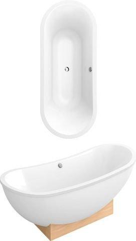 Villeroy und boch badewanne acryl freistehend my nature duo for Villeroy und boch badewanne