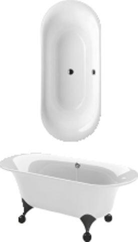 villeroy und boch badewanne oval ceta 1900x800 weiss. Black Bedroom Furniture Sets. Home Design Ideas