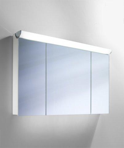 schneider spiegelschrank faceline 120 3 fl. Black Bedroom Furniture Sets. Home Design Ideas